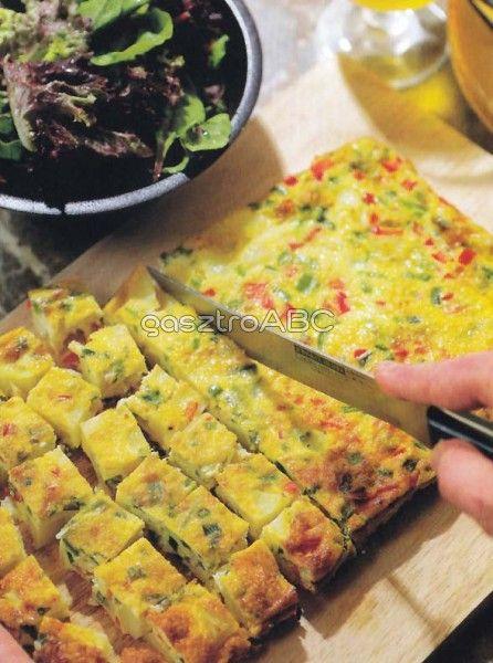 Sütőben sült tortilla   Receptek