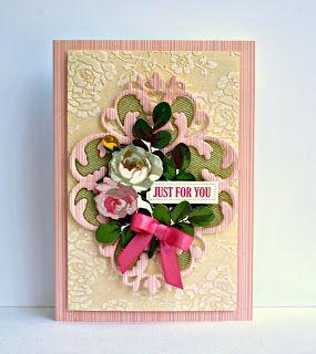 Flourish dies and Cuttlebug folder.