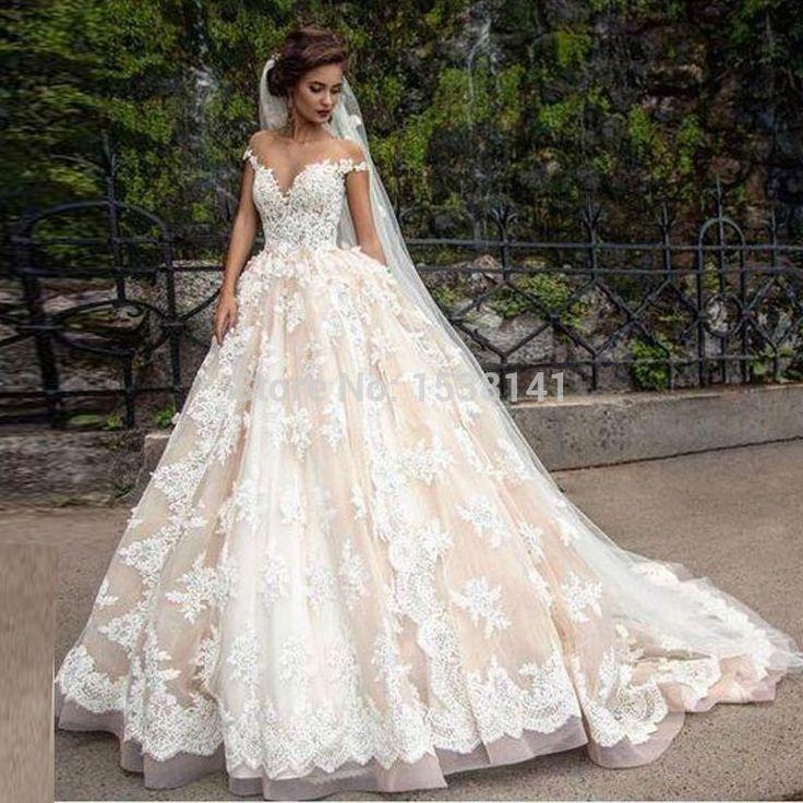 Find More Wedding Dresses Information about Romantic Sexy Vestidos De Noiva Off…