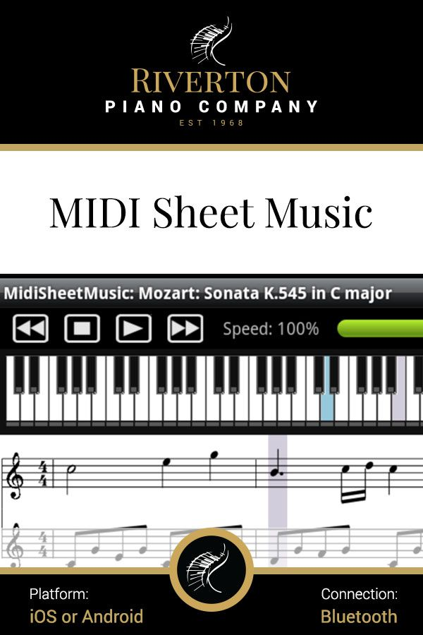 Midi Sheet Music is a FREE, nononsense Android