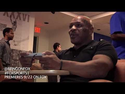 Mike Tyson plays 'Punch-Out' for first time
