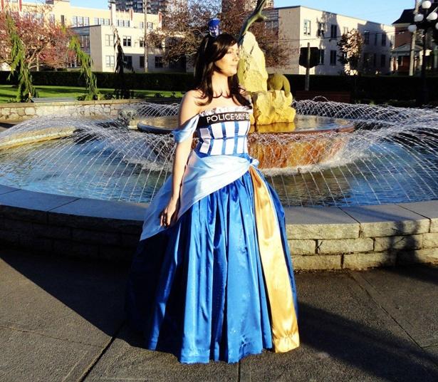 Vestido de princesa de la Tardis de Doctor Who