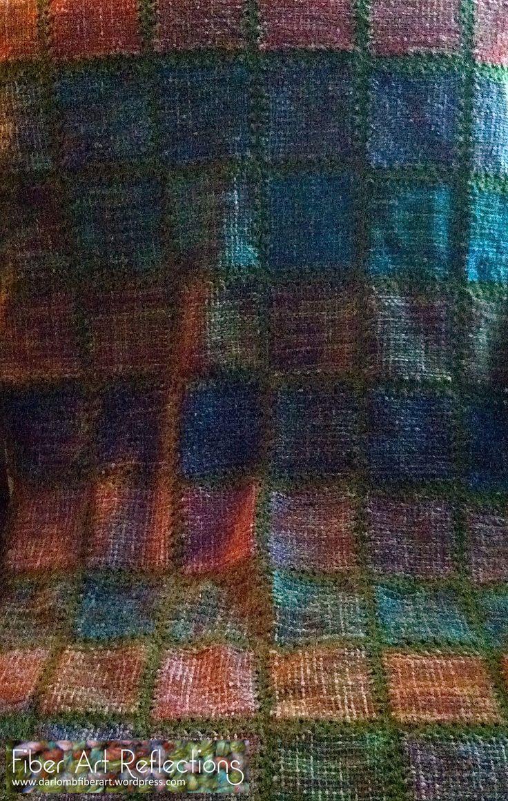 Fiber Art Reflections: Pin Loom Blanket