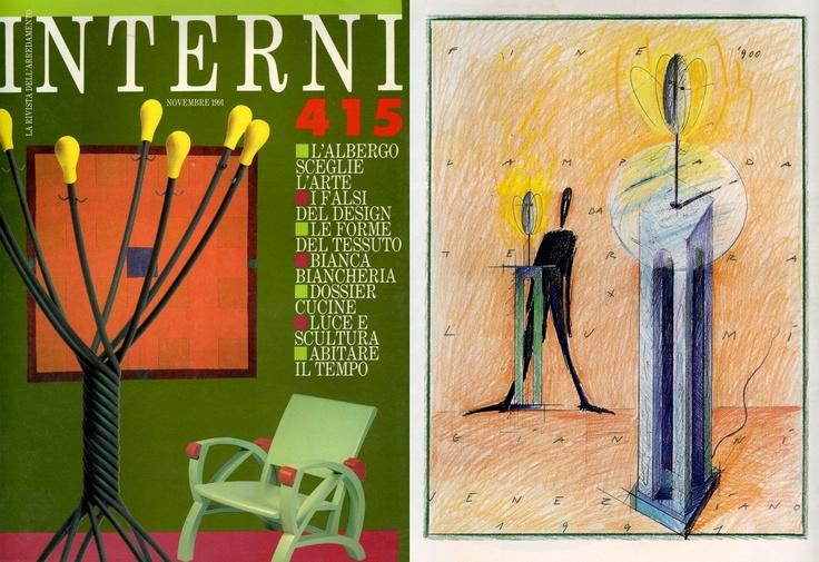 Gianni Veneziano   1991 Interni 415