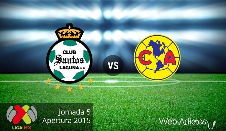 Santos vs América, Jornada 5 del Apertura 2015 ¡En vivo por internet! - http://webadictos.com/2015/08/14/santos-vs-america-apertura-2015/?utm_source=PN&utm_medium=Pinterest&utm_campaign=PN%2Bposts