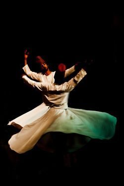 Sufi whirling dervishes