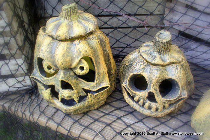 Поделки из папье маше: тыква на Хеллоуин