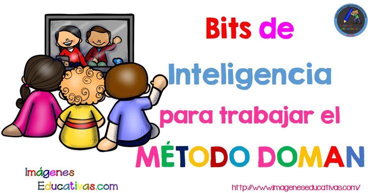 El método Doman, emplea como estímulos los llamados Bits de Inteligencia. UnBit de Inteligencia es cualquier estímulo (información) concreto que el cerebro puede procesar por cualquiera de sus vías sensoriales: auditiva (palabra, sonido), visual...