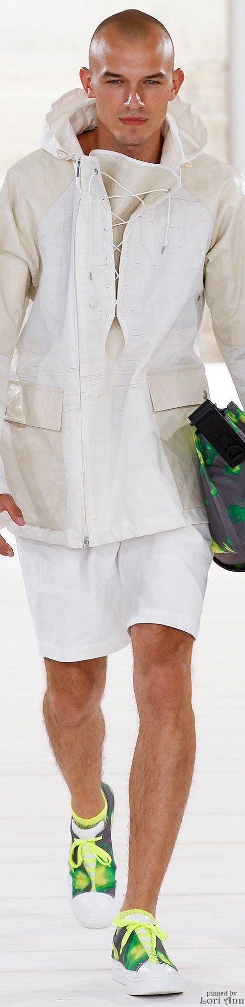Issey Miyake Spring 2015 Menswear