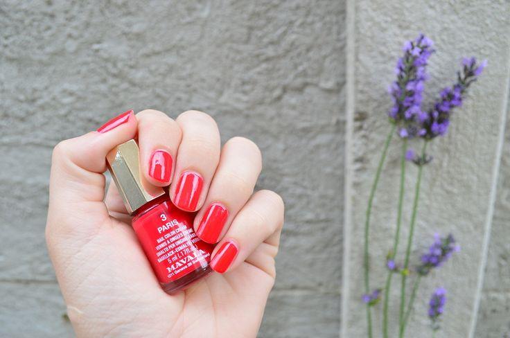 #kamzakrasou #mavala #nail #nailpolish #polish #beauty #marala #red vrednail #rednailpolish #beautynail #trendy summerMAVALA lak na nechty - KAMzaKRÁSOU.sk