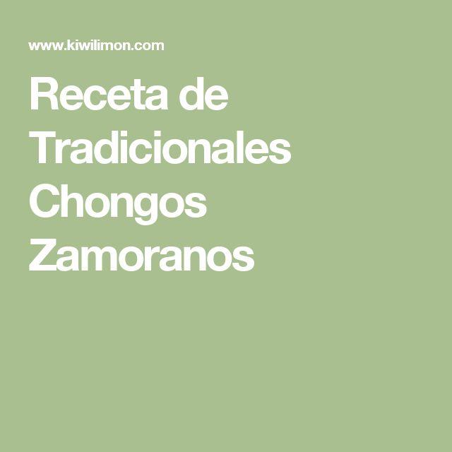 Receta de Tradicionales Chongos Zamoranos