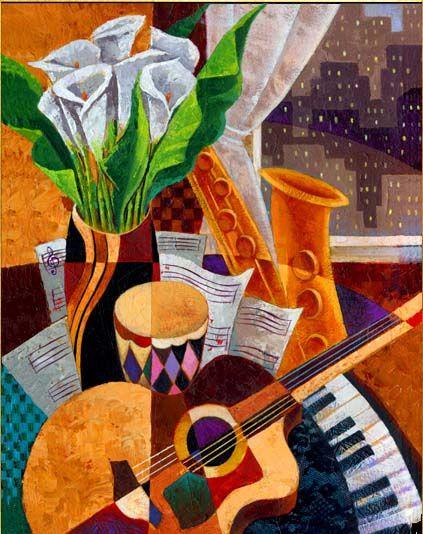 Keith Mallett 1948 | American painter | African American art | Tutt'Art@