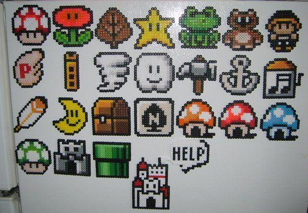 video game perler   ... GAME WORLD: Crea Tus Propios Sprites de Video Juegos con Perler Beads