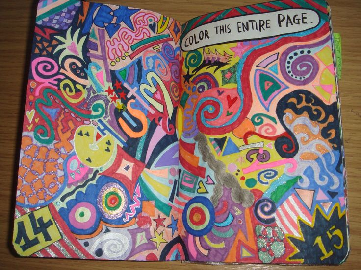wreck this journal page 1 ideas - Google Search
