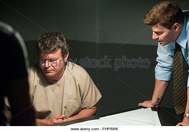 OLEG TAKTAROV & DAVID BOREANAZ OFFICER DOWN (2013) - Stock Image