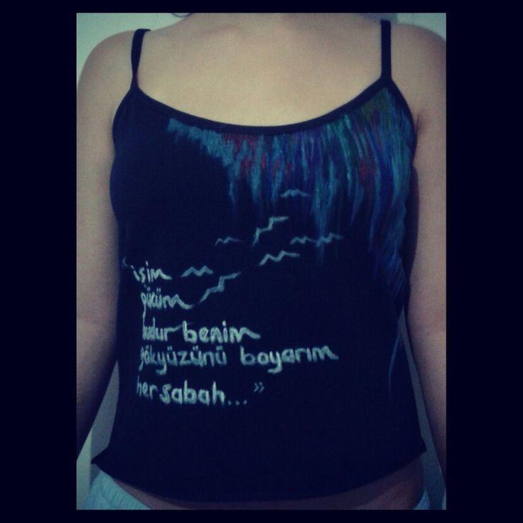 Özel tasarım tişört