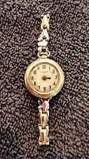 Антикварное золото 20-е годы 20 века bulova. 15 драгоценных камней. работает.