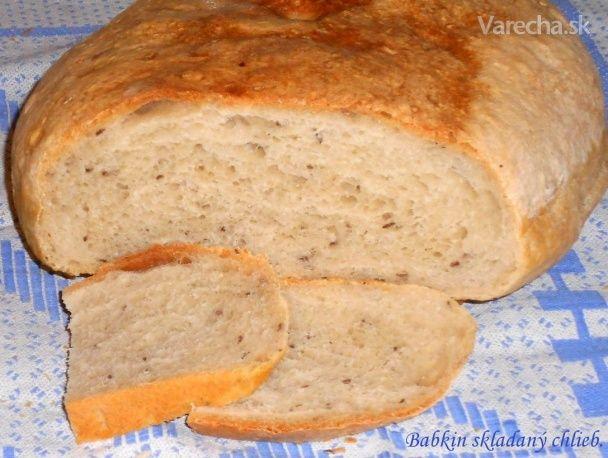 Babkin prekladaný chlebík (fotorecept)