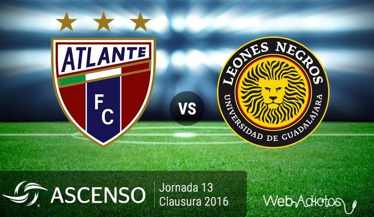 Atlante vs Leones Negros UDG, Ascenso MX C2016 ¡En vivo por internet! - https://webadictos.com/2016/04/01/atlante-vs-leones-negros-udg-ascenso-mx-c2016/?utm_source=PN&utm_medium=Pinterest&utm_campaign=PN%2Bposts