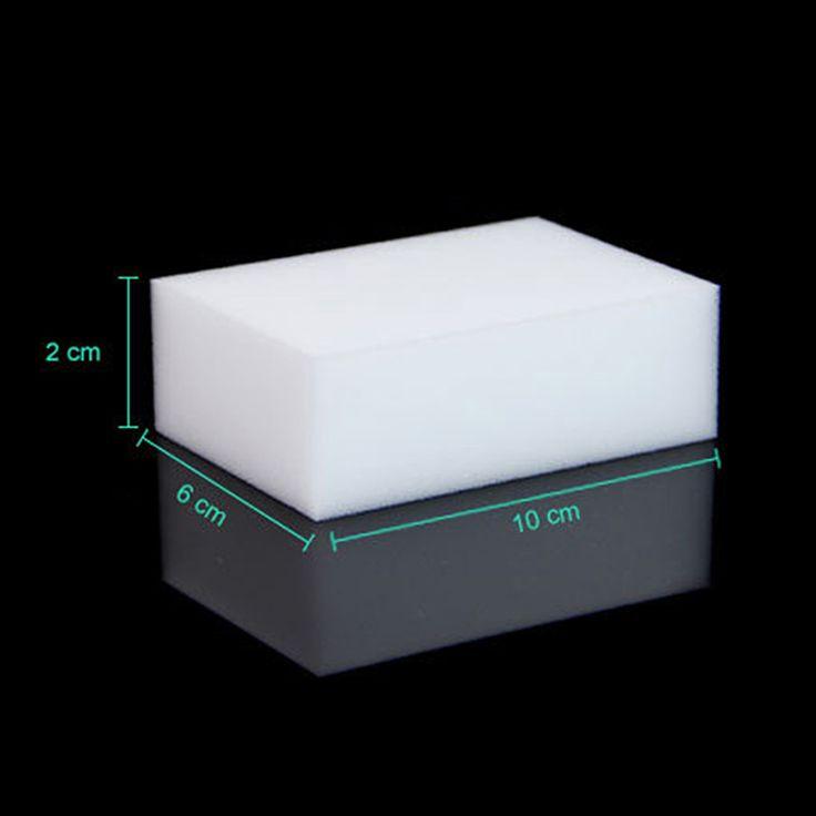 30 unids/lote Multifuncional Magia Blanca Borrador de la Esponja Melamina Cleaner Limpieza del Baño Cocina Herramientas 10x6x2 cm Nano esponja DA