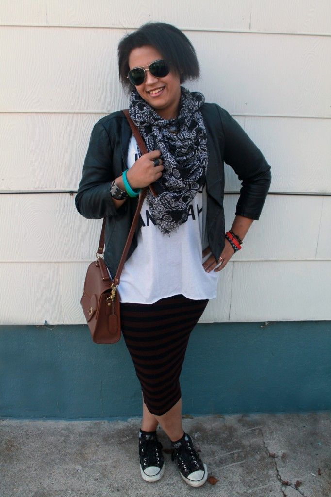 What to wear to a concert: Layers and comfy shoes! #CollegeFashionista @cfashionista