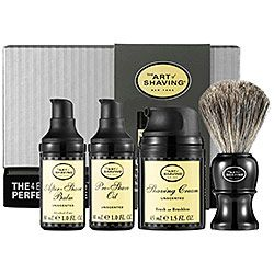 Sephora: The Art of Shaving : The 4 Elements of the Perfect Shave™ Carry-On - Unscented : skin-care-sets-for-men