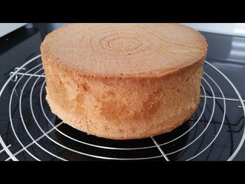 Basis biscuit voor taart - naturel en chocolade