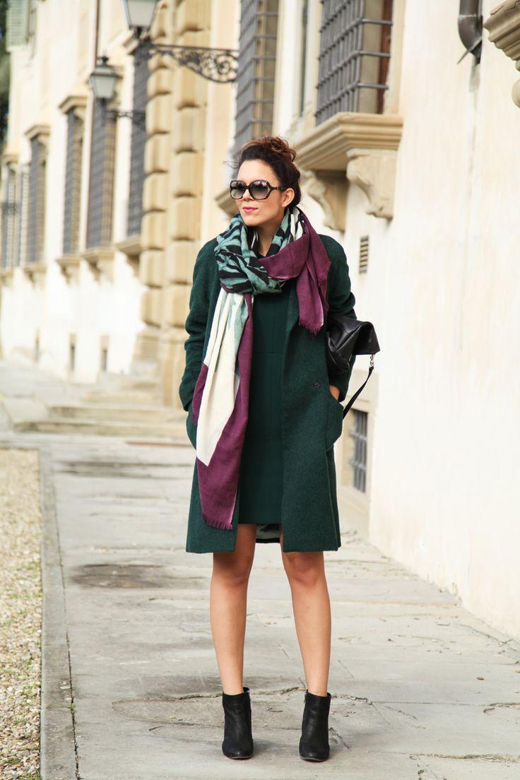 #fashion #fashionista @Irene Colzi cappotto verde