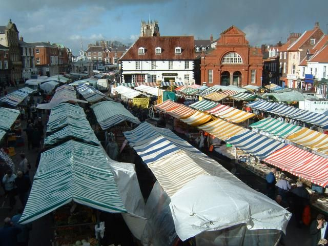 Saturday Market, Beverley, East Yorkshire