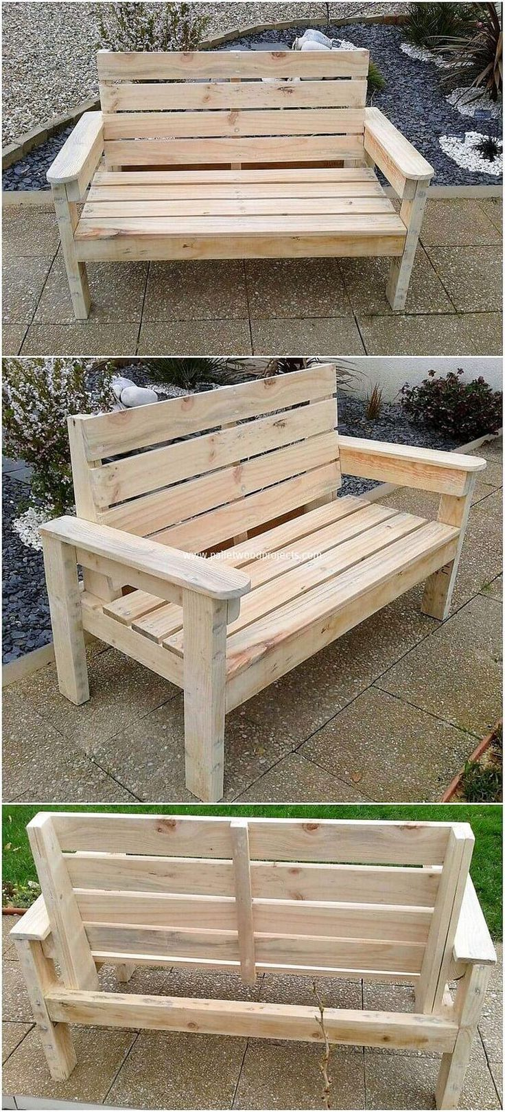 Simple and Nice Wood Pallet Recycling Ideas