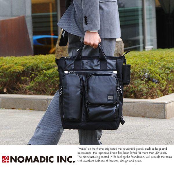 【楽天市場】NOMADIC ノーマディック モノマガジンコラボ 雨の日仕様3wayトート ブラック HM-02 /男性用 メンズ/ビジネスバッグ/3way/リュック/防水/ターポリン/A4/トートバッグ/鞄 かばん バッグ/:メンズバッグ T-style(桃源郷)