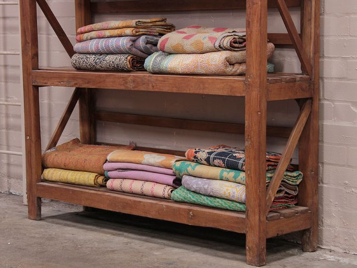 Vintage Teak Shelving Rack