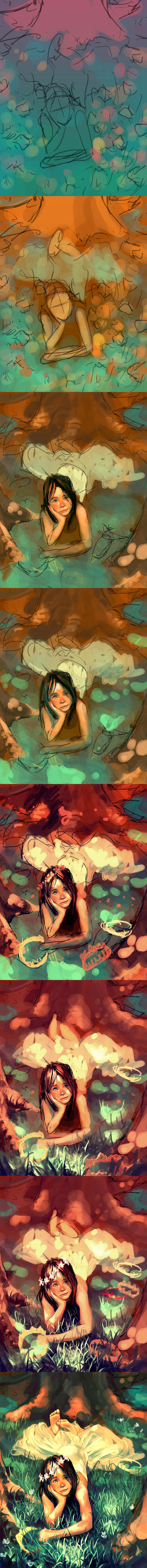 WIP Autumn coronation by `AquaSixio on deviantART ✤ || CHARACTER DESIGN REFERENCES | キャラクターデザイン | çizgi film • Find more at https://www.facebook.com/CharacterDesignReferences & http://www.pinterest.com/characterdesigh if you're looking for: #color #theory #contrast #animation #how #to #draw #paint #drawing #tutorial #lesson #balance #sketch #colors #painting #process #line #art #comics #tips #cartoon || ✤