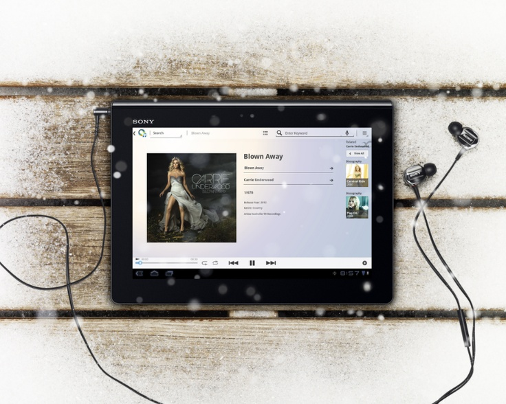 The Xperia Tablet S. Android, IR remote, and guest mode. Might be