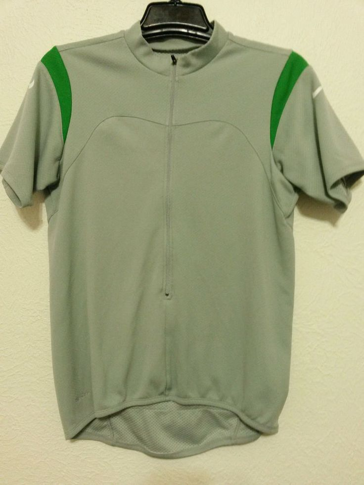 Nike - Fit Dry Boys Jersey Shirt Size Large Gray Sport Cycle Biking #Kike #SportsCyclingJersey  ..... Visit all of our online locations.....  www.stores.ebay.com/ourfamilygeneralstore .....  www.bonanza.com/booths/Family_General_Store .....  www.facebook.com/OurFamilyGeneralStore