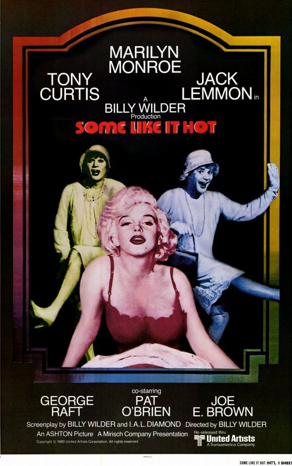 Some Like it Hot 11x17 Movie Poster (1980)