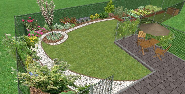 Malá zahrada ve Vyškově | Zahradní architektura