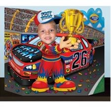 Race Car Driver Photo Prop - Costume Supplies > Party Supplies > Birthday Parties > Children's Birthday Themes > Nascar