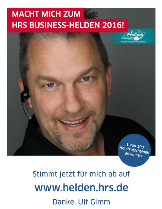 HRS #BusinessHelden Wahl 2016 Ulf Gimm