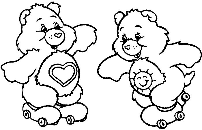 funshine cear coloring pages - photo#26