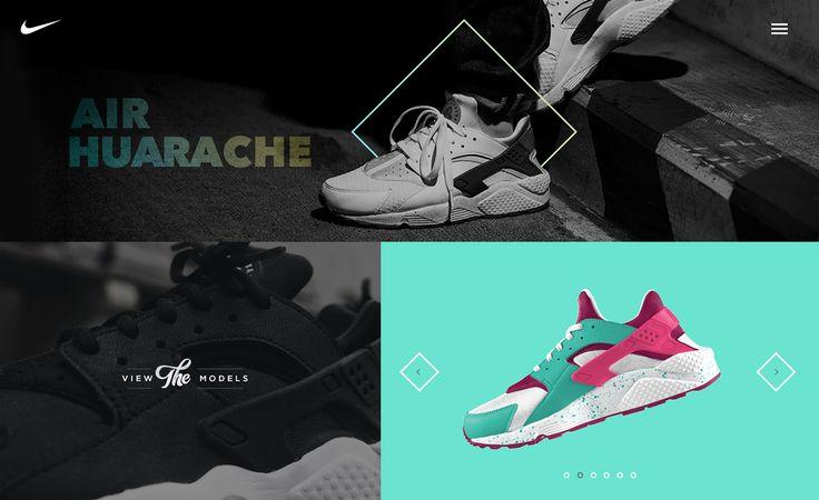 Nike - The sneaker of the week on Behance