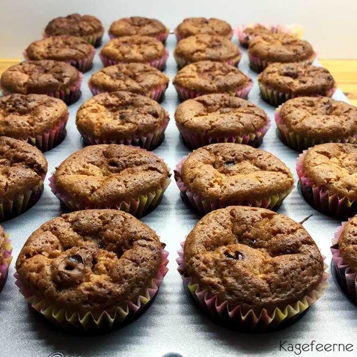 Chokolade muffins - Chocolate muffins