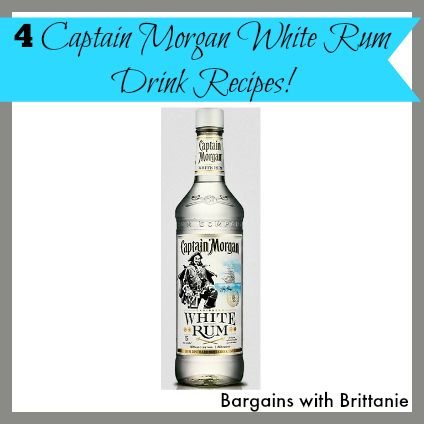 4 captain morgan white rum drink recipes perfect for for White rum with coke