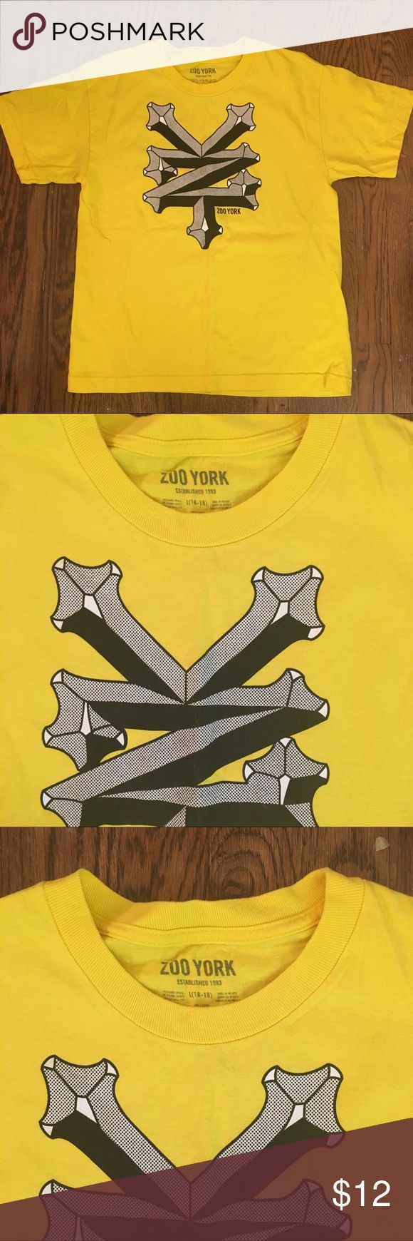 Zoo York  T-Shirt  Youth Size  L(16-18) Zoo York Graphic T-Shirt Youth Size L (13-16) Zoo York Other