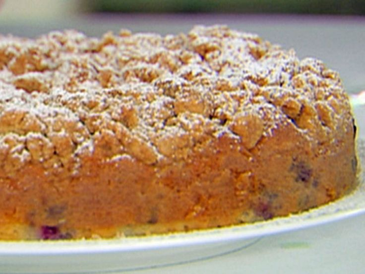 Blueberry Crumb Cake recipe from Ina Garten via Food Network