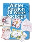 10 Week Session - Gymnastics Lesson Plan Packages | Winter