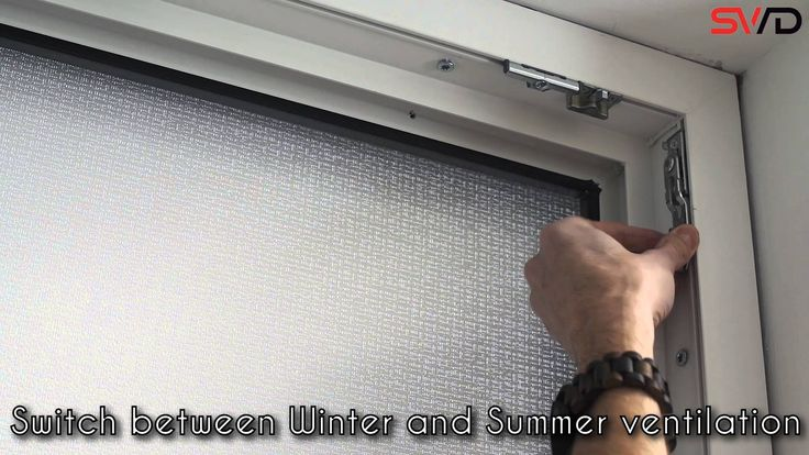 Summer / Winter Ventilation - Tilt & turn windows provide excellent ventilation control. Our windows offer winter ventilation with smaller air space and summer ventilation with bigger air space. You can switch easily between winter and summer ventilation.
