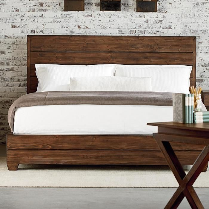 Industrial King Bed In Milk Crate | Nebraska Furniture Mart