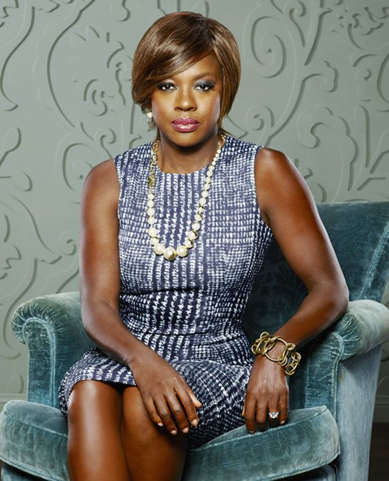 Power Dressing Lessons Learned From Female TV Characters - Annalise Keating, How to Get Away With Murder from #InStyle