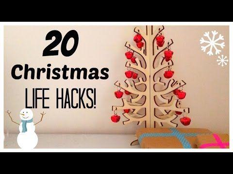 20 Christmas Life hacks | Raine maker - YouTube